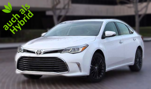 USA Toyota Avalon Hybrid